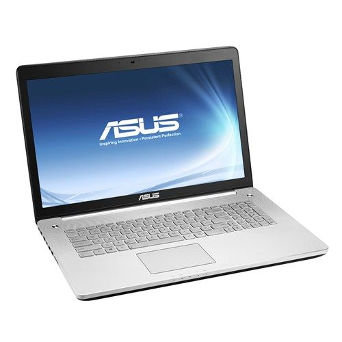 Лаптоп ASUS N750JK-T4051H с Windows 8.1 с двуядрен Intel Core i5-4200H (2.80 - 3.40 GHz, 3 MB cache)
