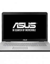 "Лаптоп ASUS N751JX-T7006D c процесор Intel® Core™ i7-4720HQ 2.60GHz, Haswell™, 17.3"", Full HD, 8GB,"